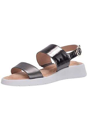 Taryn Rose Damen Sandalen mit Keilabsatz, (gunmetal)