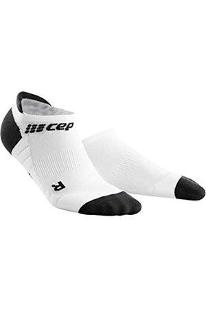 CEP Unisex-Adult Socken, 3.0-White/Dark Grey
