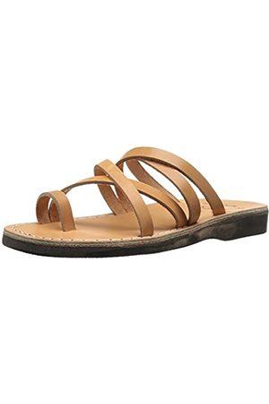 Jerusalem Sandals Damen Ariel Slide Sandale, Beige (hautfarben)