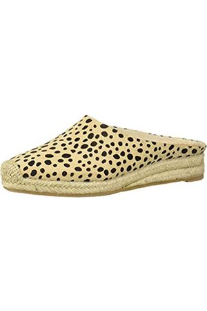 Dolce Vita Damen Brandi Mule, Schwarz (Leopardenmuster)