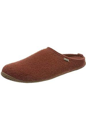 Living Kitzbühel Unisex Pantoffel unifarben mit Fußbett Hausschuh