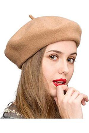 Klong Damen Baskenmütze aus Wolle, französischer Stil