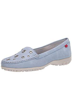 Marc Joseph New York Damen Leder Made in Brazil Mott Street Golf Schuh, Blau (Hellblau glasiert)