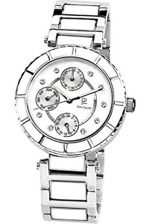 Pierre Lannier Damen-Armbanduhr Analog Edelstahl weiß 100G601