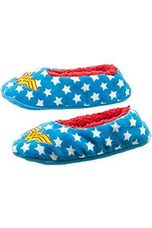 Bioworld Damen DC Comics Wonder Woman Fuzzy Slippersocken, Größe L/XL