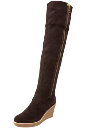 Daniblack Savannah Overknee-Stiefel für Damen, (espresso)