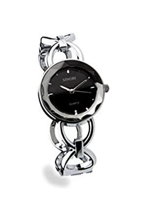 Sinobi Damen-Armbanduhr XS Analog Quarz Edelstahl beschichtet 9275/N