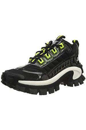 Cat Footwear Unisex Intruder Sneaker, Black/Lime Punch