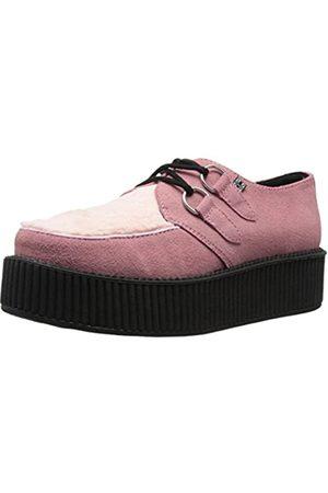 TUK Unisex Faux Fur Creeper Fashion Sneaker