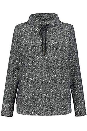 GINA LAURA Damen Sweatshirt, Jacquard-Qualität