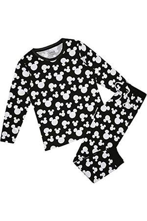 Disney Damen Mickey Mouse Ditsy Pyjama Set Pyjamaset