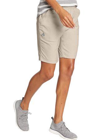 Eddie Bauer Guide Ripstop Shorts Damen Natur Gr. 4