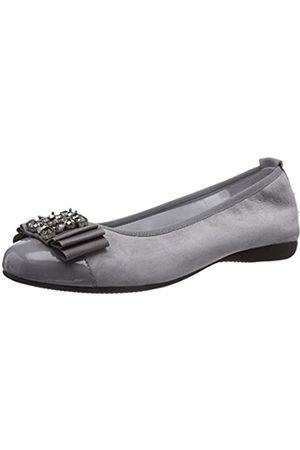 Diavolezza Damen Isolde Geschlossene Ballerinas, (Grey)