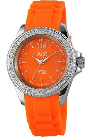 Just Watches Damen-Armbanduhr Analog Quarz Kautschuk 48-S3859-OR