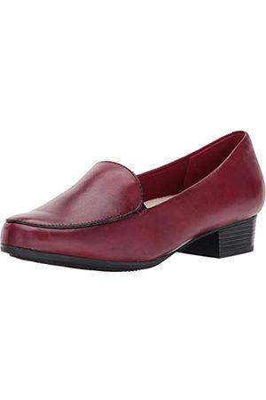 FrenchTrotters Women's Monarch Flat, Ruby red