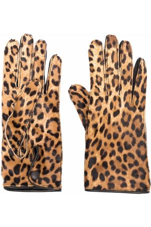 Maison Margiela Damen Handschuhe - Handschuhe mit Print