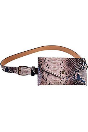 Dolce Na Damen Gürteltasche aus Schlangenleder, modisches Design