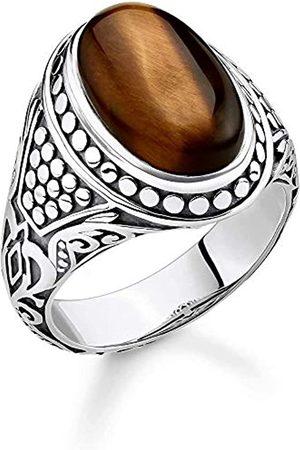 Thomas Sabo Unisex-Ring 925er Sterlingsilber geschwärzt TR2241-826-2-62