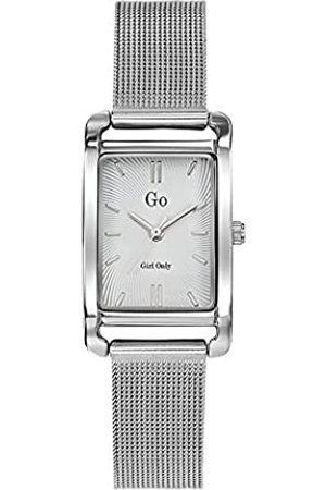 GO Girl Only Damen Analog Quarz Uhr mit Edelstahl Armband 695170