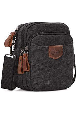 KL928 Vintage Messenger Bag für Damen und Herren Casual Schultertaschen für Reisen Durable Travel Courier