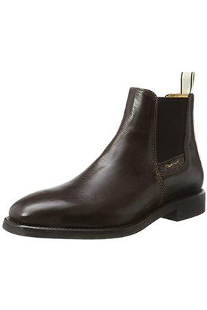 GANT Footwear Herren James Chelsea Boots, (Dark Brown)