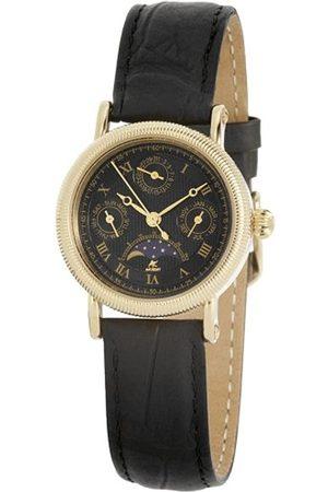 Akzent Damen-Uhren mit Echtlederband 352501019001