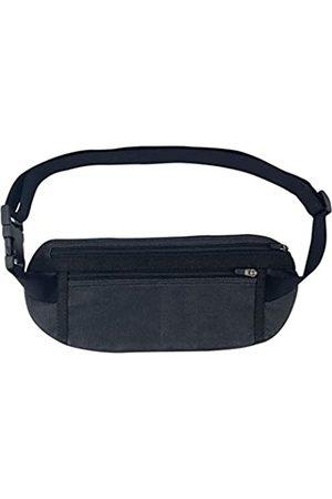 Santa Playa Secret Fanny Pack Handgemacht aus gewachstem Canvas - Hüfttasche, unsichtbarer Gürtel mit verstellbarem Gurt und Taschen - Speichern und Verstecken von Geld, Telefon