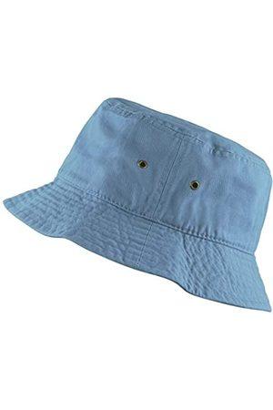 The Hat Depot 300N Unisex Sonnenhut, 100 % Baumwolle, verstaubar, für Sommer, Reisen, Strand