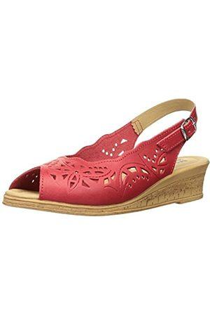Spring Step Damen Keilabsatz-Sandale