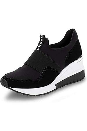 VIA MARTE Damen-Sneaker, Plateau, Lycra, bequem, weich