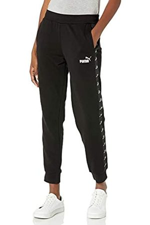 PUMA Damen Amplified French Terry Pants Trainingshose, Black