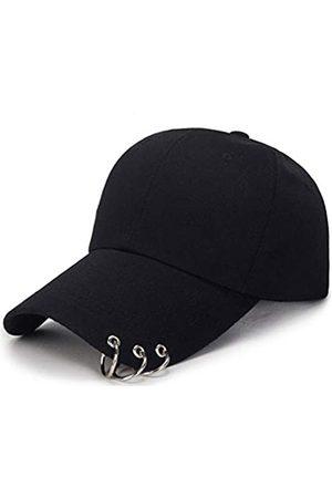 OVOY- Kpop Hat Ring Baseball-Cap - Suga-Snapback Baseball Cap mit Eisenringen - - Einheitsgröße
