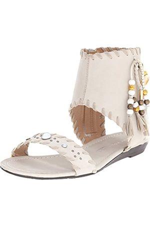 Very Volatile Damen Yulissa Mini-Sandalen mit Keilabsatz, Weiß (ice)