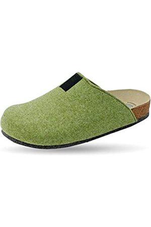 Weeger Bio-Hausschuh-Pantoffel Tweed Gr. 35
