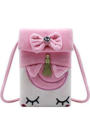 KINGSEVEN Niedliche Einhorn-Handy-Tasche für Damen und Mädchen - Pink - Einheitsgröße
