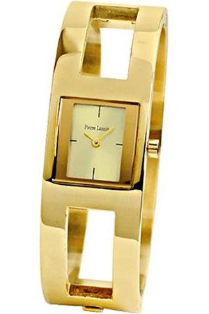 Pierre Lannier 115 K542 Damen-Armbanduhr 045J699 Analog Gold Armband Metall Gold