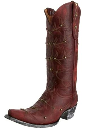Old Gringo Damen Polostud Stiefel, Rot (Roter Vulkan)