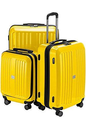 Hauptstadtkoffer X-Berg - 3er Koffer-Set Hartschalen-Koffer Koffer Trolley Rollkoffer Reisekoffer, TSA, (S