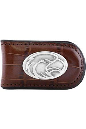 ZEP-PRO NCAA Southern Mississippi Golden Eagles Krokodilleder-Magnet Concho Geldklammer Hellbraun