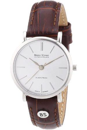 Soehnle Bruno Söhnle Damen-Armbanduhr XS Nabucco Analog Quarz Leder 17-13045-241