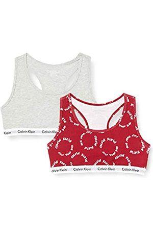 Calvin Klein 2pk Bralette Unterwäsche Unisex-Kinder