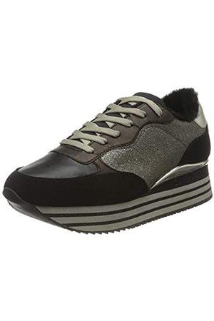 Crime london Damen Dynamic Sneaker, Brown