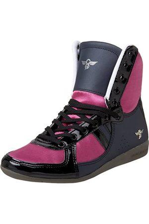 Creative Recreation Damen Galow Hi Fashion Sneaker, Pink ( /Marineblau/Fuchsia/Gunmetal)