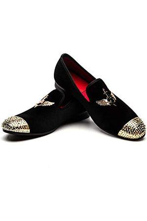 JITAI Männer Penny Slip-On Leder gefüttert Loafer Herren Schuhe Mokassins