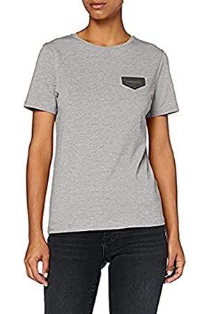 Gianni Kavanagh Damen Grey Melange Core Tee Unterhemd