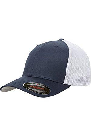 Flexfit Herren Two-Tone Stretch Mesh Fitted Cap Mütze, Marineblau/
