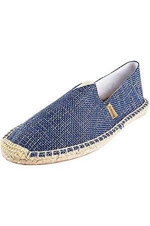 ALEXIS Damen Geschlossene Zehe Original Canvas Geflochten Seil Espadrille Schuh