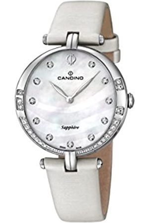 Candino Damen Analog Quarz Uhr mit Leder Armband C4601/1