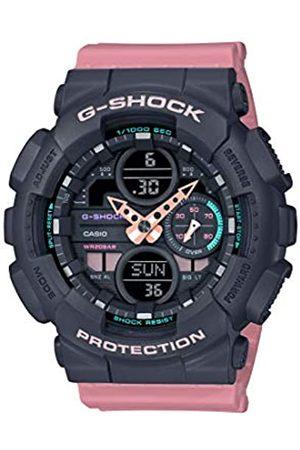 Casio Unisex Erwachsene Analog – Digital Quarz Uhr mit Resin Armband GMA-S140-4AER