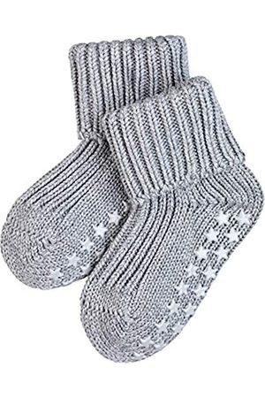 Falke Unisex Baby B HP Hausschuh-Socken Catspads Cotton, Baumwolle, 1 Paar, 1-6 Monate (62-68cm), Blickdicht